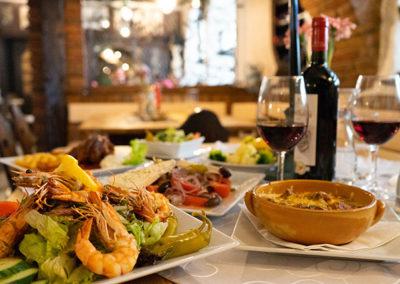 Speisen und Getränke in Grafenau